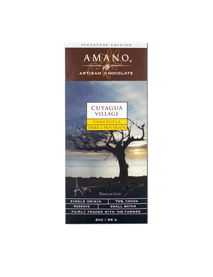 Amano Cuyagua Village 70% Dark Chocolate Bar