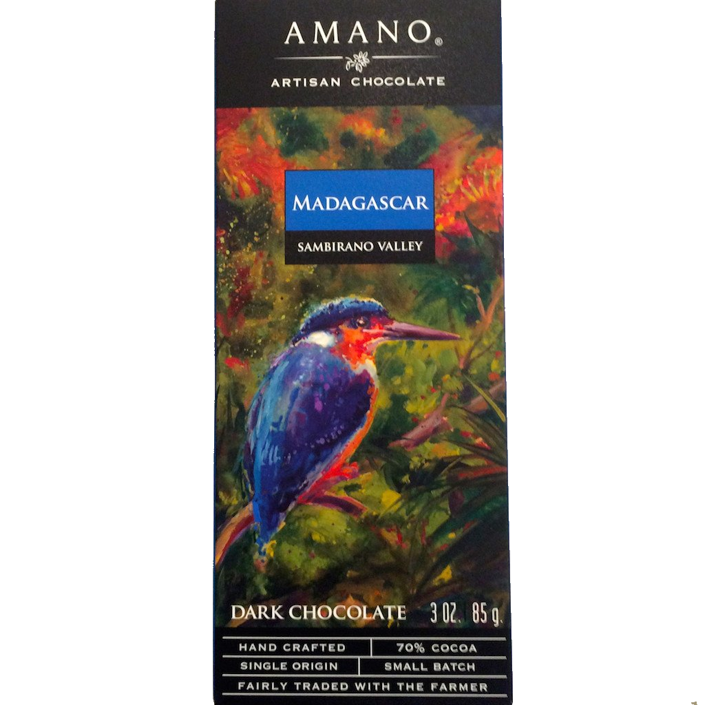 Amano Sambirano Valley 70% Dark Chocolate Bar