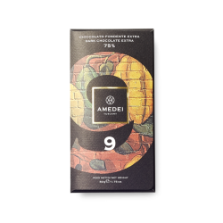 Amedei 9 75% Dark Chocolate Bar