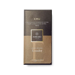Amedei Cru Ecuador 70% Dark Chocolate Bar