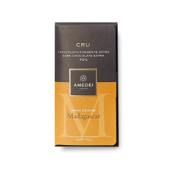 Amedei Cru Madagascar 70% Dark Chocolate Bar