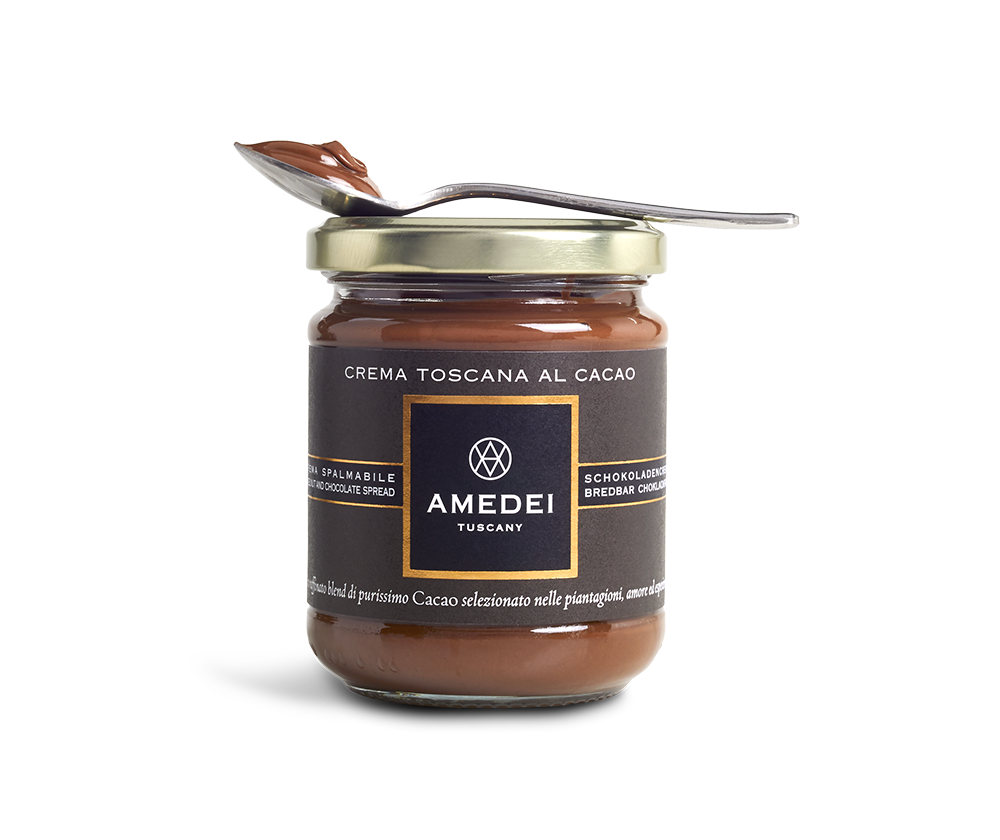 Amedei Dark Chocolate Spread with Spoon