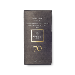 Amedei Toscano Black 70% Dark Chocolate Bar