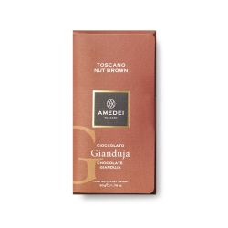 Amedei Toscano Nut Brown 32% Gianduja Chocolate Bar