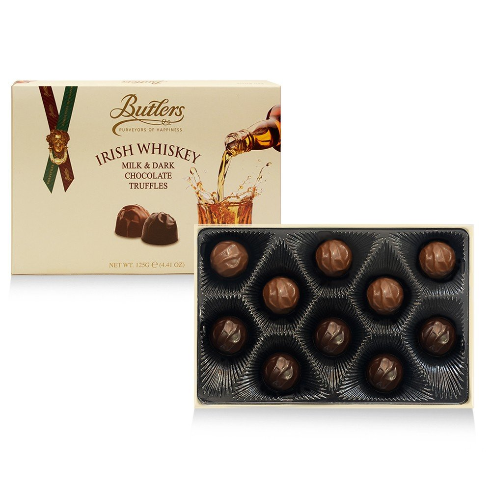 Butlers Irish Whiskey Chocolate Truffles Open