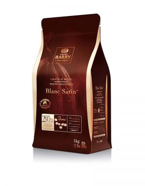Cacao Barry Blanc Satin 29.2% White Chocolate Baking Discs