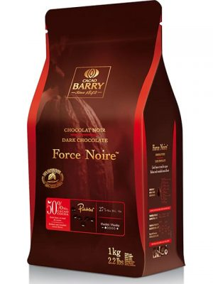 Cacao Barry Force Noire 50% Dark Chocolate Baking Discs