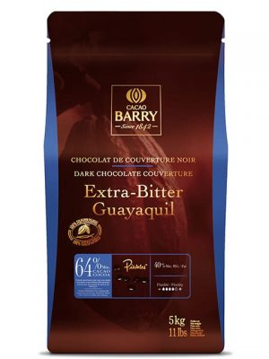 Cacao Barry Guayaquil 64% Dark Chocolate Baking Discs