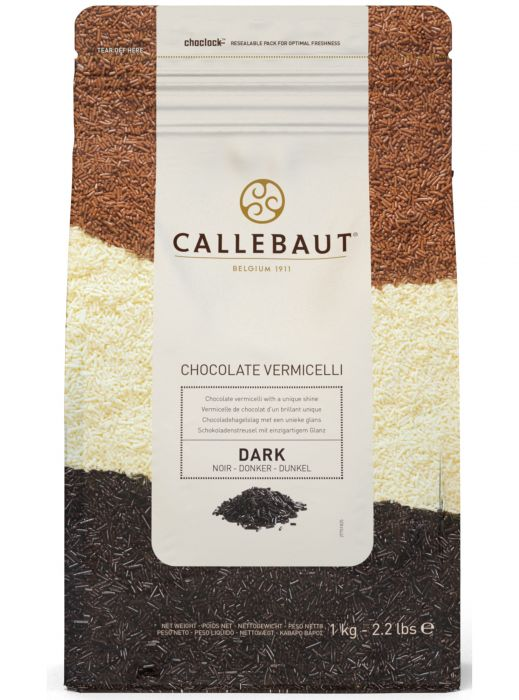 Callebaut 43.1% Dark Chocolate Vermicelli