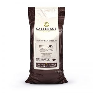 Callebaut 815 56.9% Dark Chocolate Baking Callets