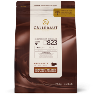Callebaut C823 31.7% Milk Chocolate Callets