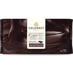 Callebaut L-60-40 60.6% Dark Chocolate Baking Block