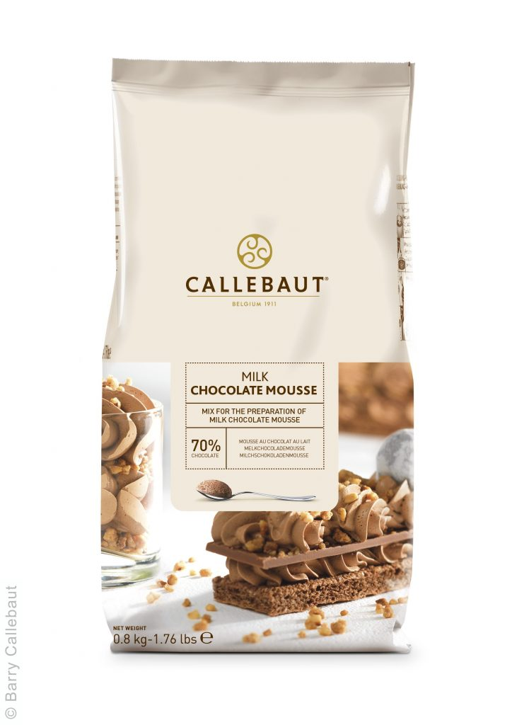 Callebaut Milk Chocolate Mousse Powder