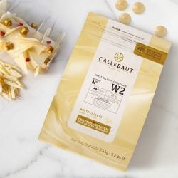 Callebaut W2 28% White Chocolate Baking Callets