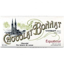 Chocolat Bonnat Équateur 75% Dark Chocolate Bar