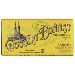 Chocolat Bonnat Asfarth 65% Milk Chocolate Bar