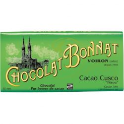 Chocolat Bonnat Cacao Cusco 75% Dark Chocolate Bar