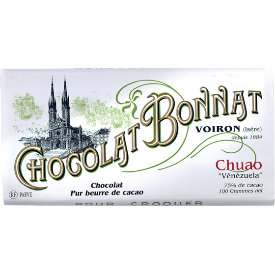 Chocolat Bonnat Chuao 75% Dark Chocolate Bar