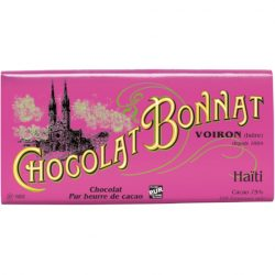Chocolat Bonnat Haiti 75% Dark Chocolate Bar