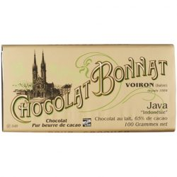 Chocolat Bonnat Java 65% Milk Chocolate Bar