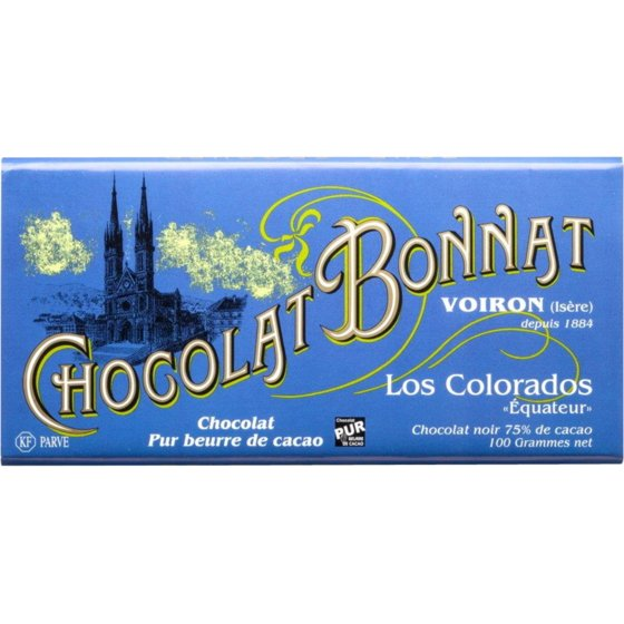 Chocolat Bonnat Los Colorados 75% Dark Chocolate