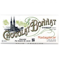 Chocolat Bonnat Madagascar 75% Dark Chocolate Bar