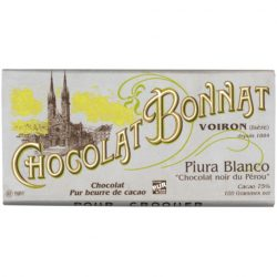 Chocolat Bonnat Piura Blanco 75% Dark Chocolate Bar