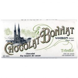 Chocolate Bonnat Trinité 75% Dark Chocolate Bar