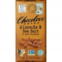 Chocolove 55% Almonds & Sea Salt Dark Chocolate Bar
