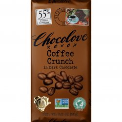 Chocolove 55% Coffee Crunch Dark Chocolate Bar