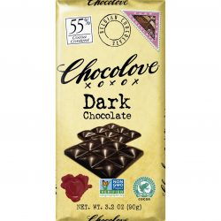 Chocolove 55% Pure Dark Chocolate Bar