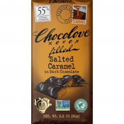 Chocolove 55% Salted Caramel Dark Chocolate Bar