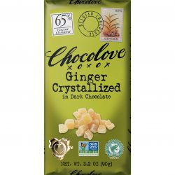 Chocolove 65% Crystallized Ginger Dark Chocolate Bar