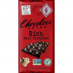 Chocolove 65% Rich Dark Chocolate Bar