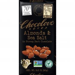 Chocolove 70% Almonds & Sea Salt Dark Chocolate Bar