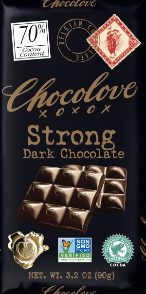 Chocolove 70% Strong Dark Chocolate Bar