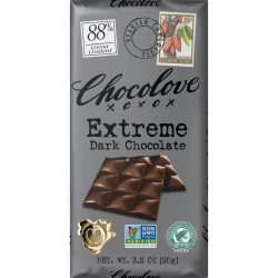 Chocolove 88% Extreme Dark Chocolate Bar