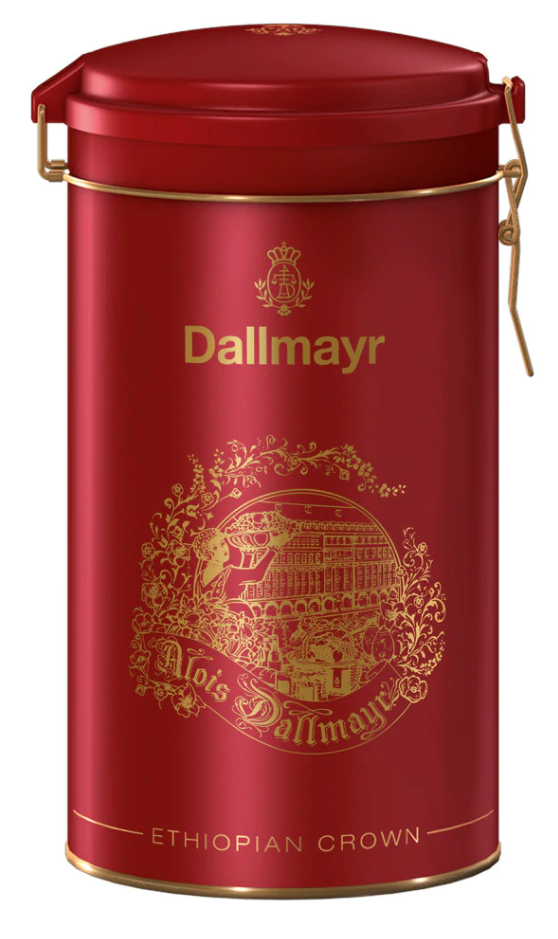 Dallmayr Ethiopian Crown Coffee Gift Tin
