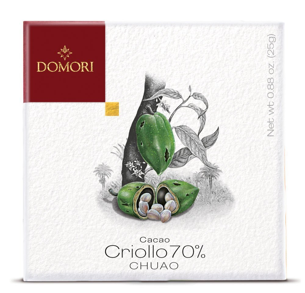 Domori Chuao 70% Dark Chocolate Bar