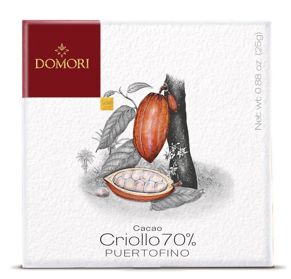 Domori Puertofino 70% Dark Chocolate Bar