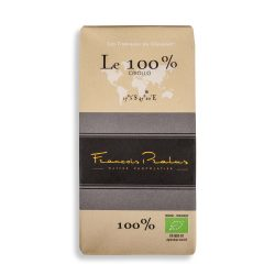 François Pralus 100% Dark Chocolate Bar