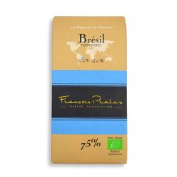 François Pralus Brazil 75% Dark Chocolate Bar