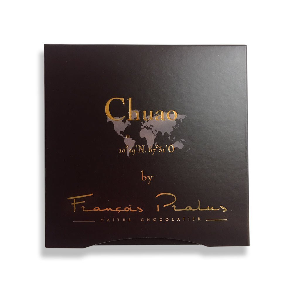 François Pralus Chuao 75% Dark Chocolate Bar