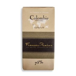 François Pralus Colombia 75% Dark Chocolate Bar