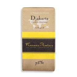 François Pralus Djakarta 75% Dark Chocolate Bar