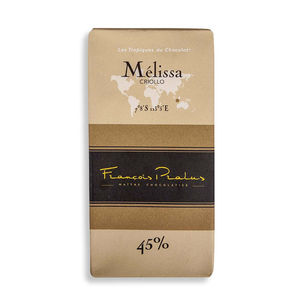 François Pralus Mélissa 45% Milk Chocolate Bar