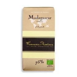 François Pralus Madagascar 75% Dark Chocolate Bar