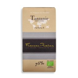 François Pralus Tanzanie 75% Dark Chocolate Bar