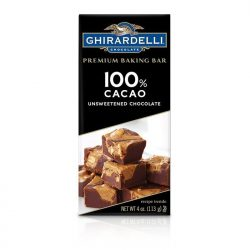 Ghirardelli 100% Unsweetened Chocolate Baking Bar