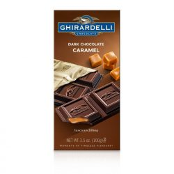 Ghirardelli 60% Dark Chocolate Caramel Filling Bar